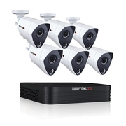 Night Owl 8 Channel 3MP Extreme HD Video Security DVR with 1 TB HDD and 6 x 3MP Wired Infrared Cameras