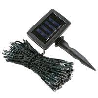 iMounTEK 100 LED Solar String Light, 40ft (Cool White)