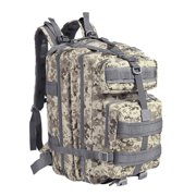 6635ec177b0 ... Daypack Rucksack for Outdoor Hiking Trekking Camping Hunting. Product  Image. Tactical Backpack (Arctic Camo) Large Army Assault Pack 40L w  MOLLE  Gear ...