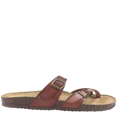 Women Time And Tru Footbed Slide