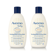 Aveeno Baby Soothing Relief Creamy Wash with Natural Oatmeal, 8 fl. oz