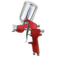 SPRAYIT SP-353 1.5mm Gravity Feed Spray Gun with Aluminum Swivel Cup