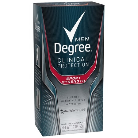 Degree Men Clinical Sport Strength Antiperspirant Deodorant, 1.7 (Best Prescription Strength Antiperspirant)