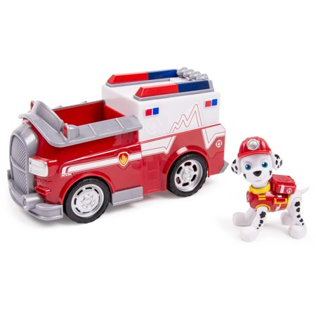 Police Ambulance (Paw Patrol Marshall's EMT Ambulance, Vehicle and Figure)
