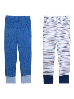 Newborn Baby Boy Knit Pants, 2-pack