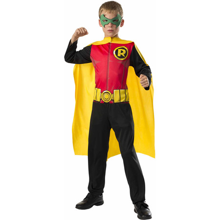Robin Boys Jumpsuit Halloween Costume](Halloween Ruby Slippers)