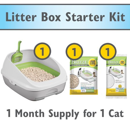 Purina Tidy Cats Breeze Cat Litter Box System Starter -