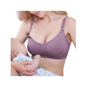 49fe45758e784 Topumt Womens Nursing Bra Front Buckles Maternity Breastfeeding Pregnant Bra  Free Feeding Underwear