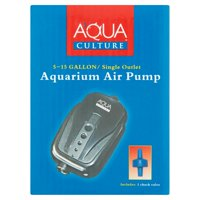 Aqua Culture 5-15 Gallon Single Outlet Aquarium Air Pump