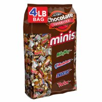 SNICKERS, TWIX, MILKY WAY & More Minis Size Candy Bars Variety Mix 67.2-Ounce 240-Piece Bag