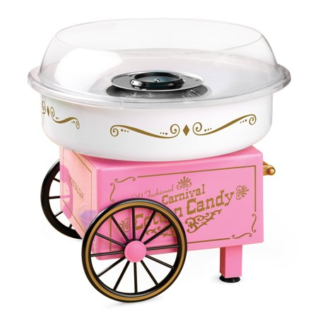 Nostalgia PCM305 Vintage Hard & Sugar-Free Candy Cotton Candy Maker - Cotton Candy For Sale