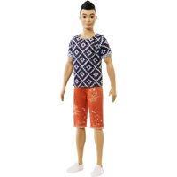 Barbie Ken Fashionistas Doll, Original Wearing Geometric Shirt