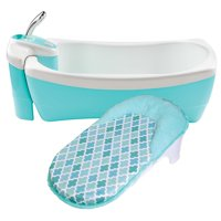 Summer Infant Lil' Luxuries Whirlpool, Bubbling Spa & Shower, Blue