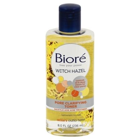 Biore Pore Clarifying Witch Hazel Toner - 8 fl oz