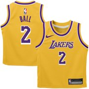 3b27b7f4c83 Lonzo Ball Los Angeles Lakers Nike Toddler Replica Player Jersey Gold -  Icon Edition