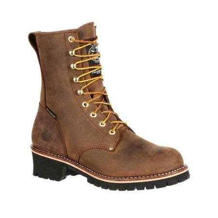 georgia boot steel toe waterproof insulated logger work boot