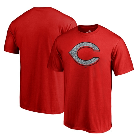 Cincinnati Reds Fanatics Branded Static Logo Big & Tall T-Shirt - Red