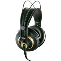 Akg Professional K 240 Studio Dynamic Stereo Headphone - Wired - 15 Hz 25 Khz - Gold Plated - Binaural - Semi-open - 9.84 Ft Cable (k240studio)