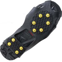 Ice Cleats Snow Grips Anti Slip Walk Traction Shoes Chains Crampons size L