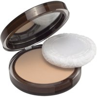 CoverGirl Clean Pressed Powder Compact, Buff Beige [125], 0.39 oz (Pack of 2)