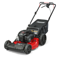 """Snapper 21"""" Gas Front Wheel Drive Variable Speed Self Propelled Lawn Mower with Briggs and Stratton Engine, Side Discharge, Mulching, Rear Bag, Rear High Wheels"""