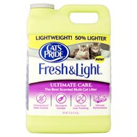 Cat's Pride Fresh And Light Ultimate Care Scented Multi-Cat Litter, 10-lb