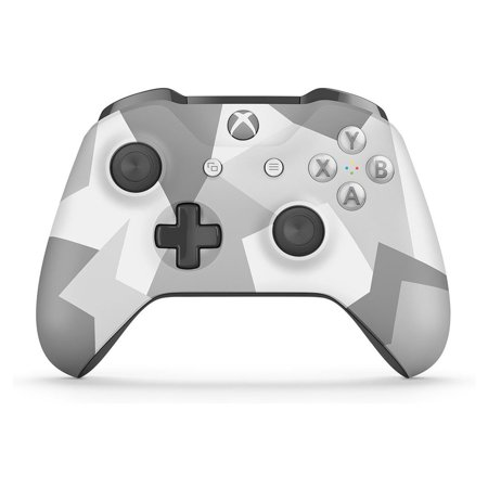 Microsoft Xbox One Wireless Controller, Winter Forces Special Edition (Walmart Exclusive), WL3-00043