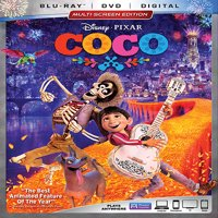 Coco (Blu-ray + DVD + Digital)