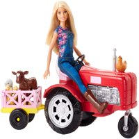 Barbie Careers Farmer Doll and Tractor