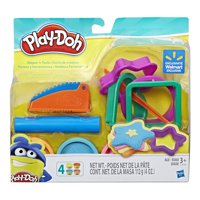 Play-Doh Shapes 'n Tools Set with 4 Cans of Dough & 5+ Tools