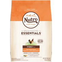 NUTRO WHOLESOME ESSENTIALS Adult Dry Dog Food Farm-Raised Chicken, Brown Rice & Sweet Potato Recipe, 15 lb. Bag