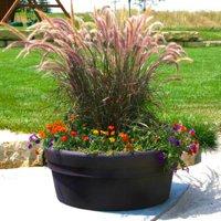 Round Resin Sedona Planter