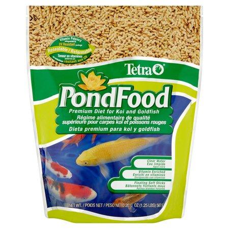 (2 pack) TetraPond Premium Diet Pond/Koi Fish Food, 1.25