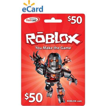 Roblox $50 Game Card, Digital Download - Walmart.com
