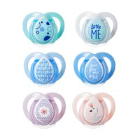 Tommee Tippee Closer to Nature Moda Pacifiers, 0-6 months - 2 count (Colors May Vary)