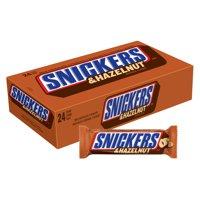 Snickers Hazelnut Milk Chocolate, 1.76 Oz., 24 Count