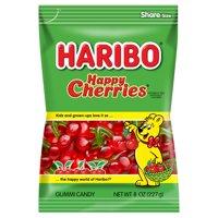(3 Pack) Haribo, Happy Cherries Gummi Candy, 8 Oz