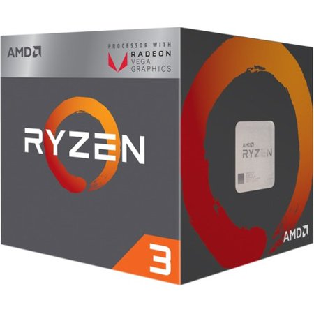 AMD RYZEN 3 2200G Quad-Core 3.5 GHz Socket AM4 65W Desktop Processor