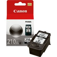 Canon PG-210XL High-Yield Black Original Ink Cartridge (2973B001)
