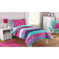 Mainstays Kids Mix it Up Bed-in-a-Bag Complete Bedding Set