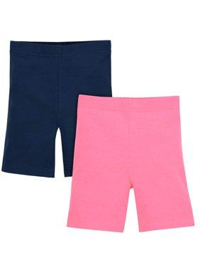 Bike Shorts, 2-pack (Baby Girls & Toddler Girls)