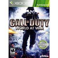 Video Games ETC! Call of Duty World At War Backwards Compatible, Activision, Xbox, 360, 047875881921