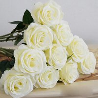 Girl12Queen 1 Pc Artificial Flower Fake Rose Wedding Bridal Party Home Garden Decoration