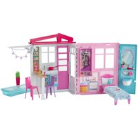 Barbie Fully Furnished Close & Go House