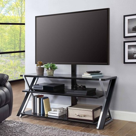 Bush Metal Tv Stand (Whalen Xavier 3-in-1 TV Stand for TVs up to 70