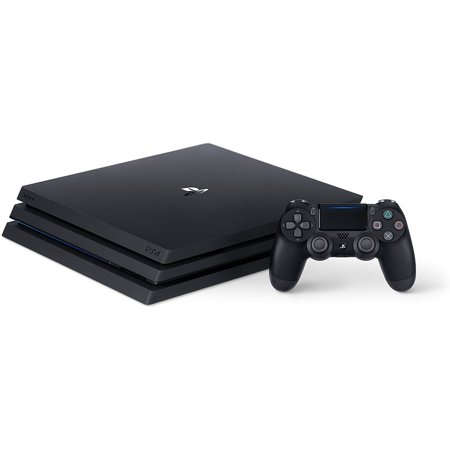 Playstation 4 Pro 1tb Gaming Console Black 3001510 Walmart Com