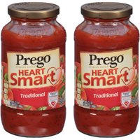 (2 Pack) Prego Lower Sodium Traditional Italian Sauce, 23.5 oz.
