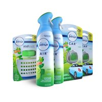 Febreze Air Freshener Bundle, Gain Original Scent, with AIR Effects, SMALLSPACES, and CAR Air Fresheners