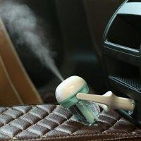 Auto Mini Car Humidifier Air Purifier Freshener Travel Car Portable Blue