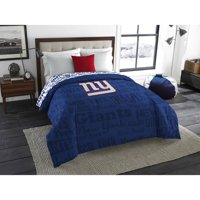 "NFL New York Giants ""Mascot"" Twin/Full Bedding Comforter"